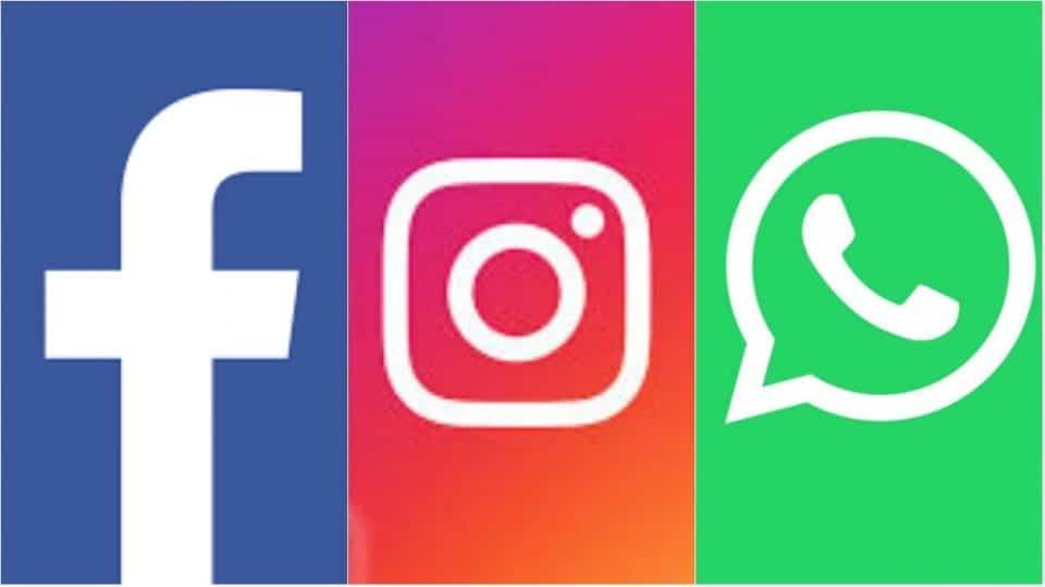 Problemas técnicos con whatsapp, instagram y facebook