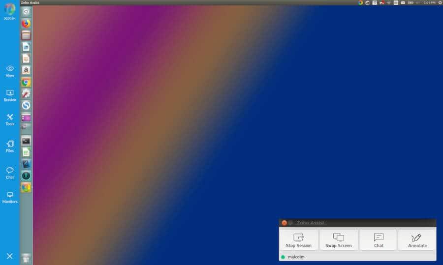escritorio remoto linux