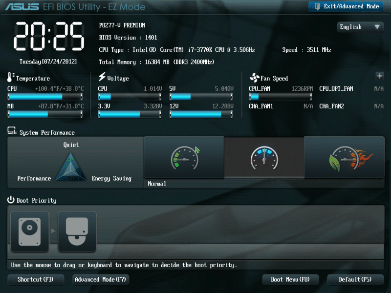UEFI linux