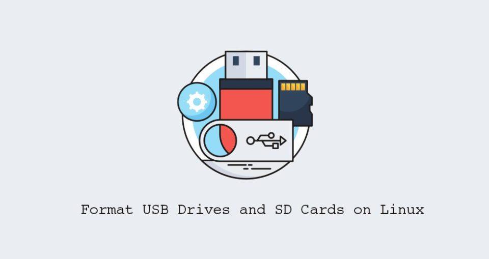 Cómo dar Formato a Unidades USB y Tarjetas SD en Linux