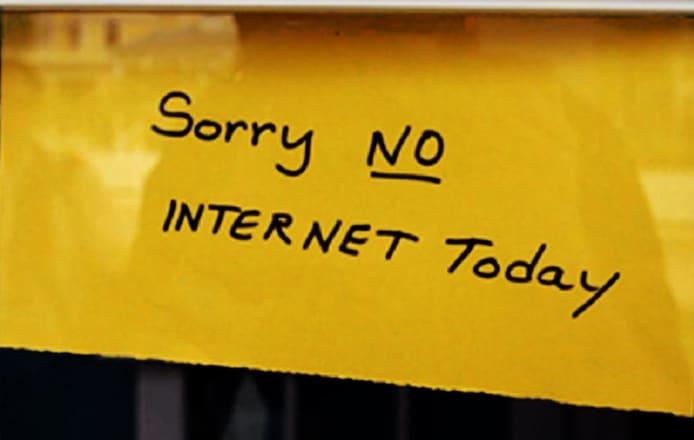 cierre de Internet en la India