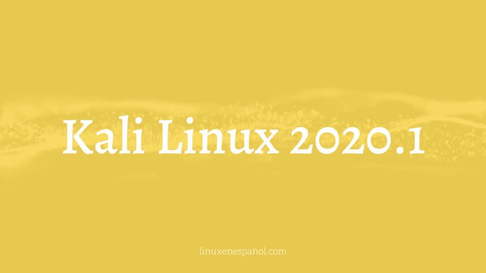 Kali Linux 2020