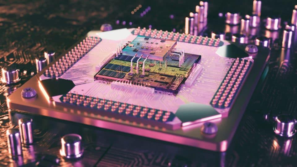 teletransportar información entre chips