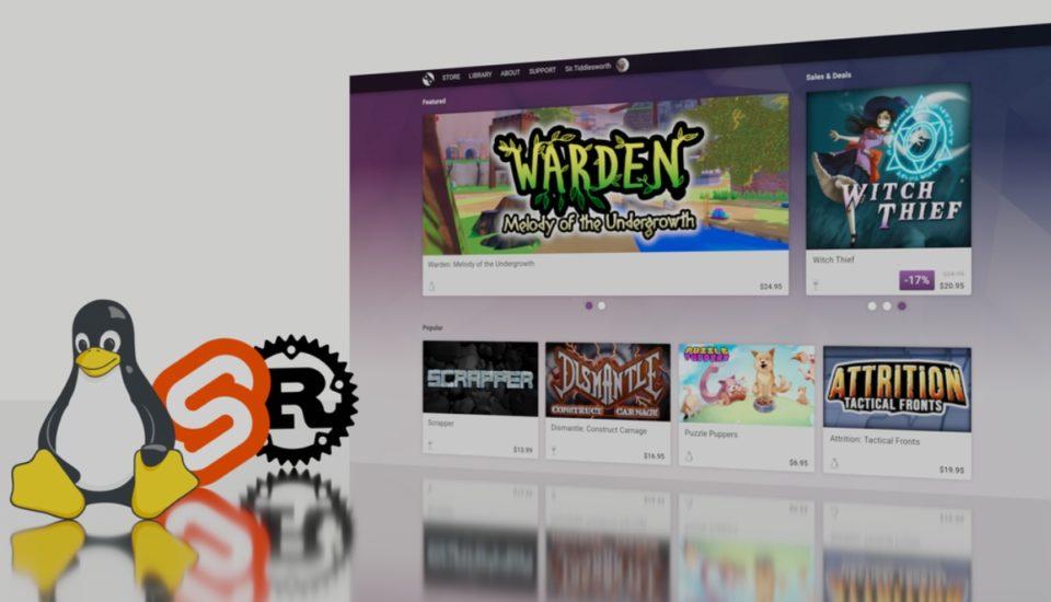 GamePad plataforma juegos gratis para linux