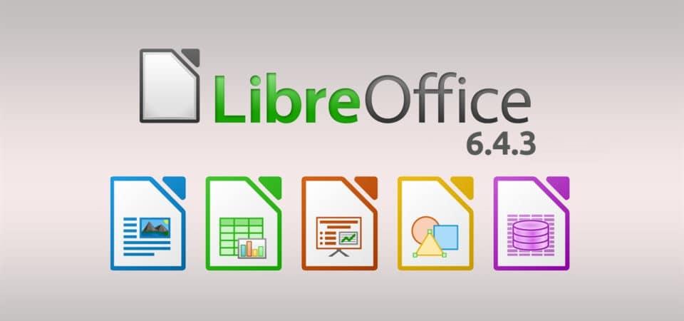 LibreOffice 6.4.3
