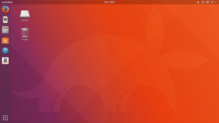 Como quitar el icono de la papelera del escritorio ubuntu