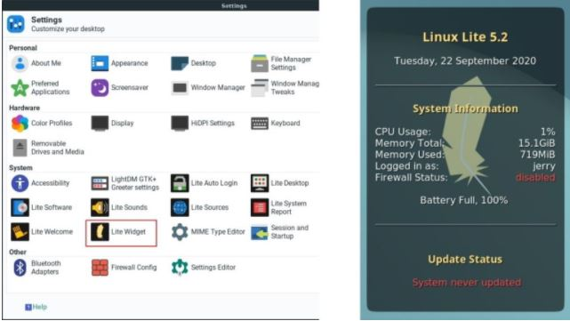 Linux Lite 5.2 2