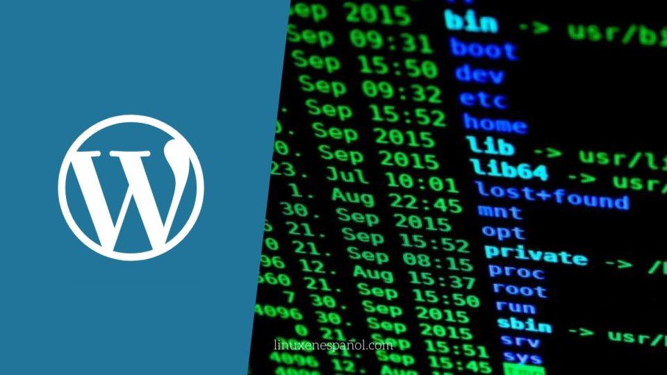 Establecer permisos correctos en archivos de wordpress